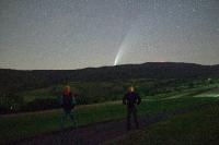 Kométa Neowise C/2020 F3, Simon a ja